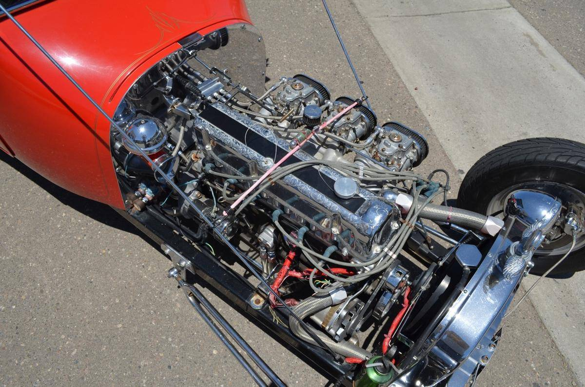 1923-Dodge-Pickup-Hot-Rod-with-a-Nissan-L24-L26-Inline-six-06 Nissan Engine Wiring Harness on