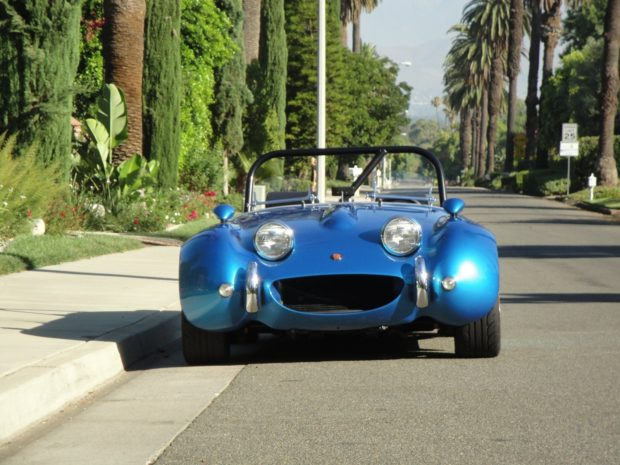 1960 Austin-Healey Sprite with a 3.5 L Rover V8