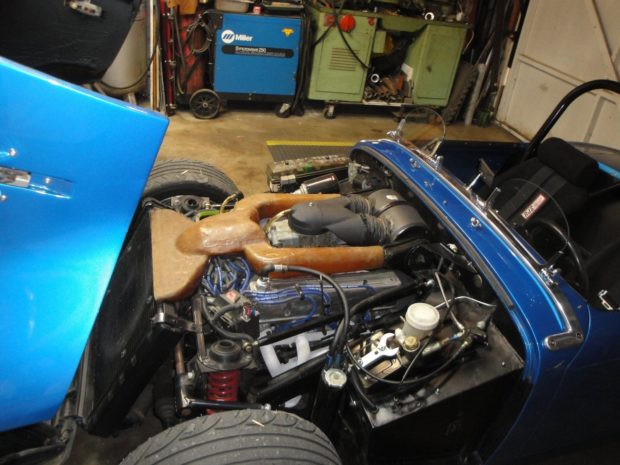 1960 Austin-Healey Sprite with a 3.5 L Rover V8