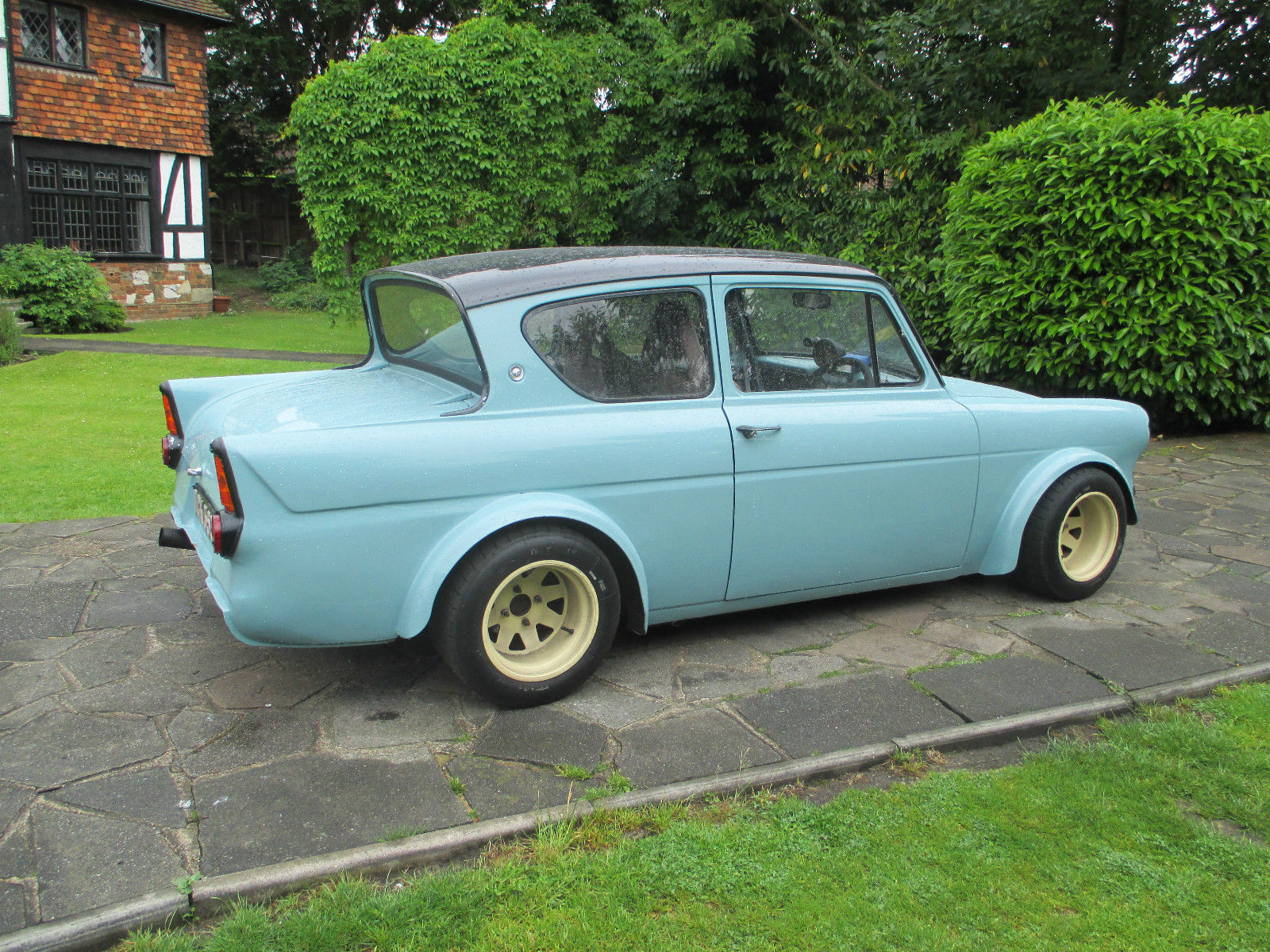 1967 ford anglia with a vauxhall red top  u2013 engine swap depot