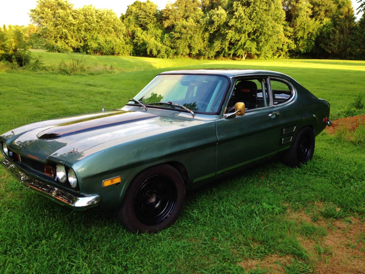1971 mercury capri with a turbo lsx. Black Bedroom Furniture Sets. Home Design Ideas