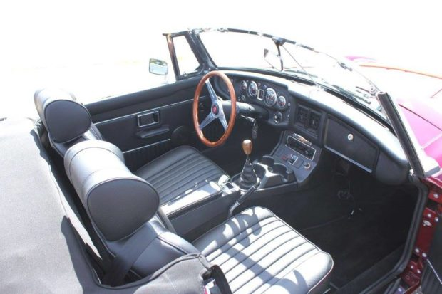 1974 MGB with a GM 3.4 L L32 V6