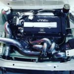 1979 Honda Civic with a Turbo B18 inline-four