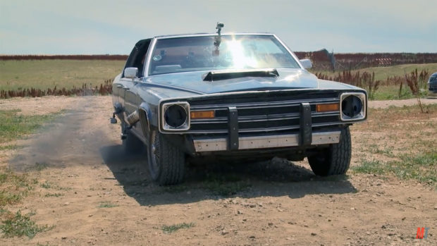 1991 Cadillac Brougham with a Cummins inline-six
