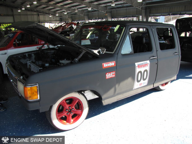 Procrastination Performance 1994 Ford F-350 with a Chevy 350 V8