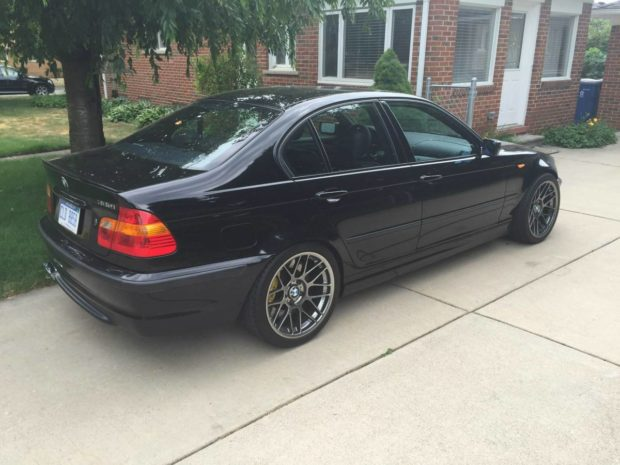 2003 BMW 330i with a 6.2 L LSx V8
