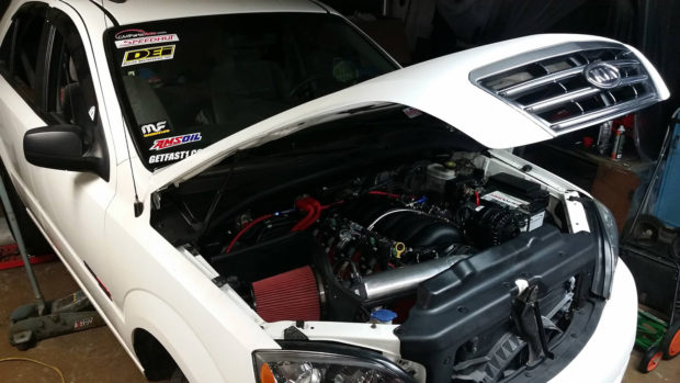 2007 Kia Sorento with 6.0 L LSx V8