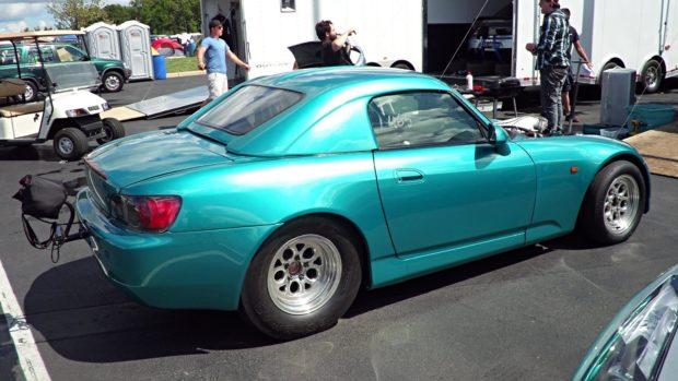 Chris Boyette Honda S2000 with a Turbo J32 V6