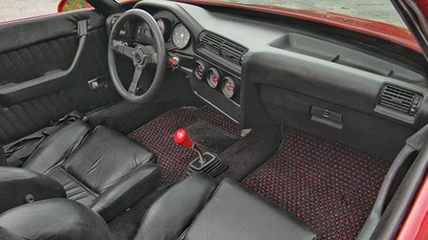 Custom Porsche 914 with a Chevy 350 V8