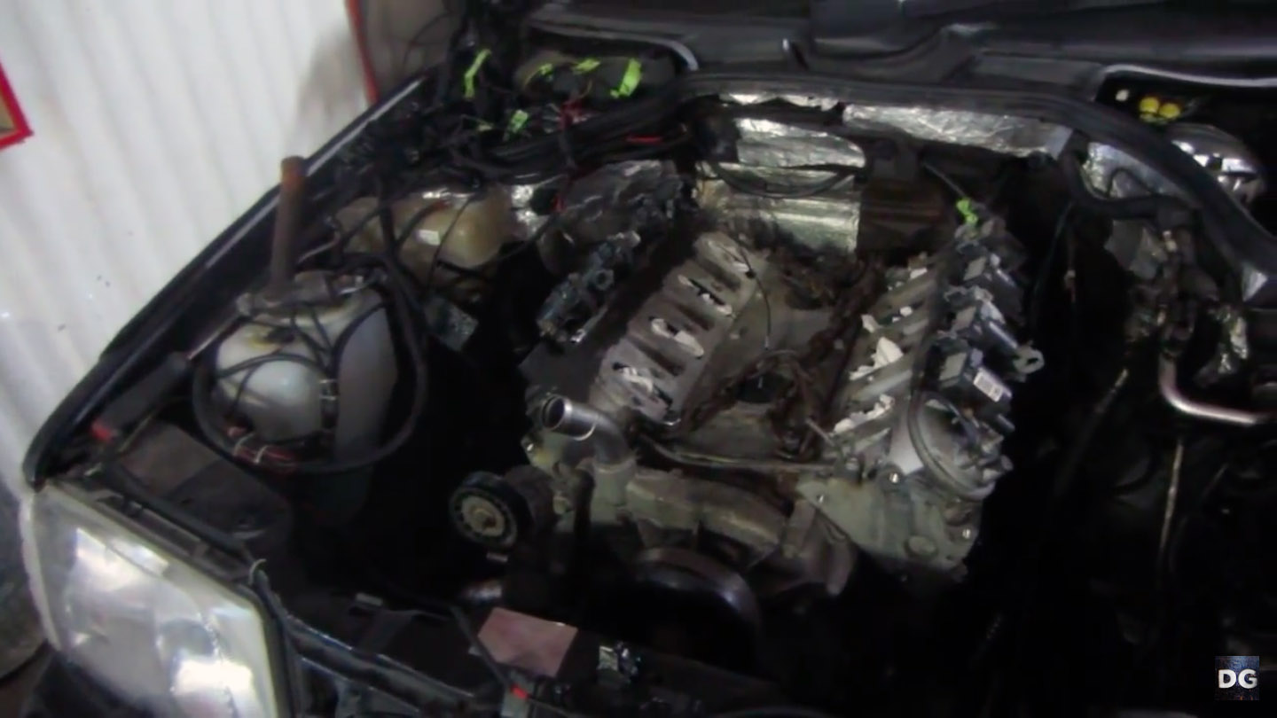 1994 Mercedes Wagon With A Turbo Lsx Part 2 Engine Swap Depot W124 Wiring Harness Number