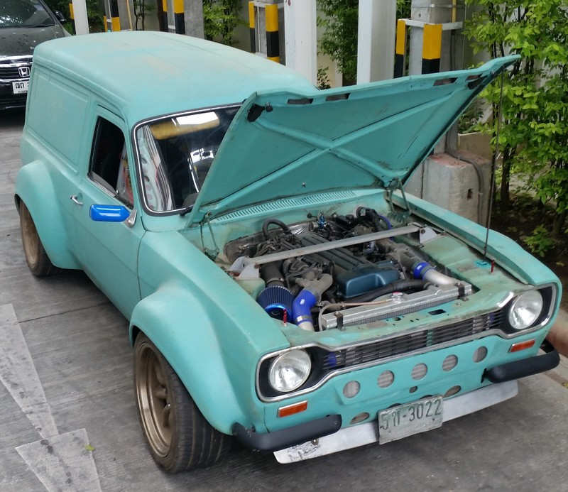 Ford Escort Wagon With A 2jz Update Engine Swap Depot