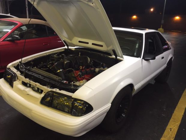 Fox Body Mustang with a 5.7 L HEMI V8