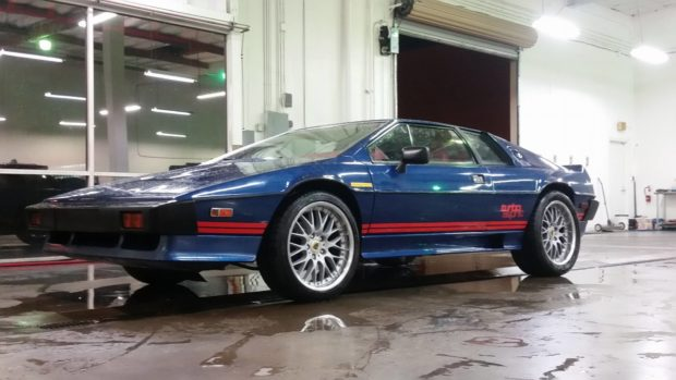 Lotus Esprit with a LS3