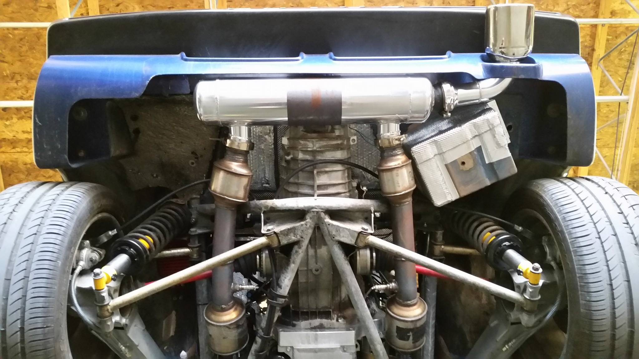 Lotus Esprit With A Ls V on Ls3 Crate Engine