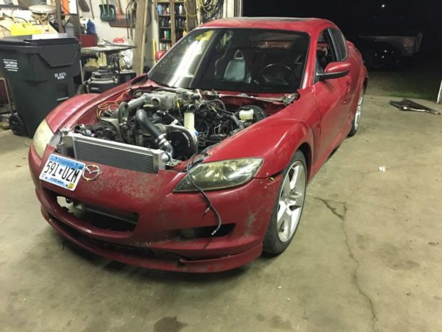 Mazda RX-8 with a Ford 4.9 L Inline-six