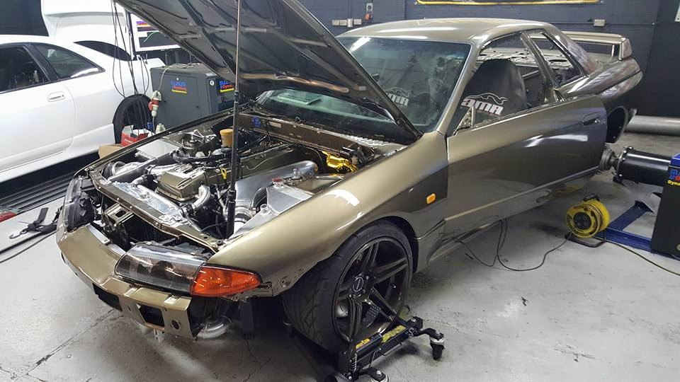 r32 skyline with a ford barra  u2013 engine swap depot