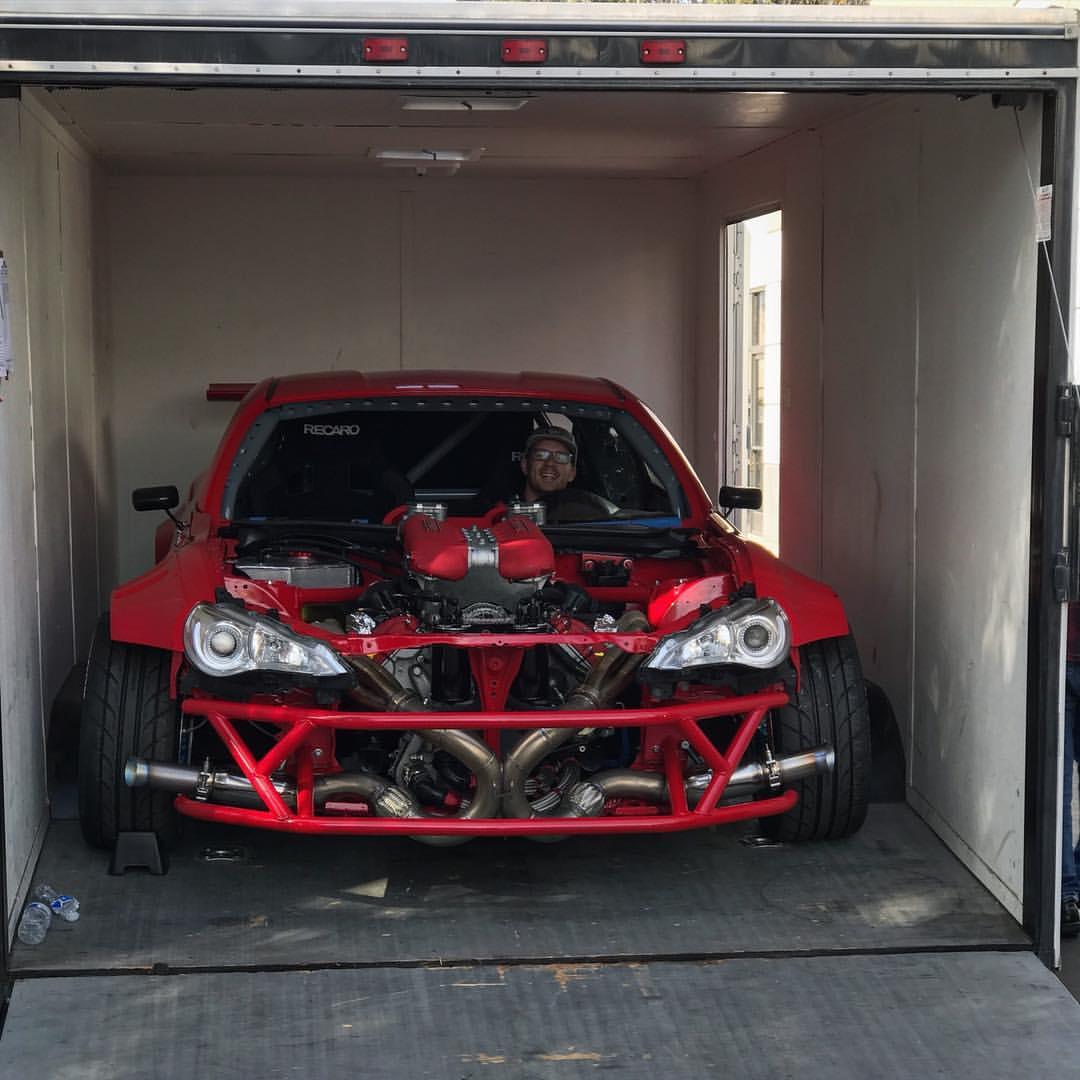 Toyota Gt86 With A Ferrari V8 Update 3  U2013 Engine Swap Depot