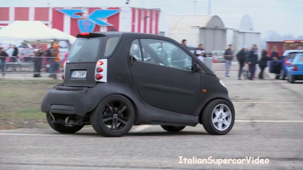 Smart Fortwo with a VW 1.9 L TDI