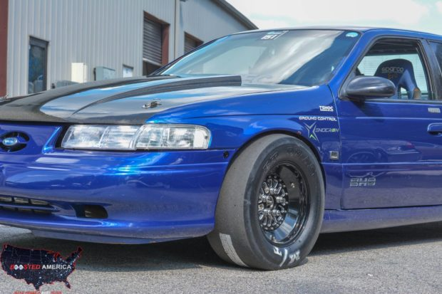 The Blue Turd 1995 Ford Taurus with a turbo 3.3 L V6