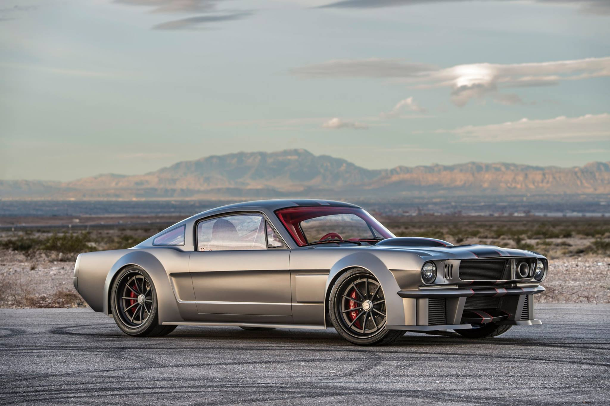 1965 Mustang With A 1 000 Hp Twin Charged V8 Engine Swap