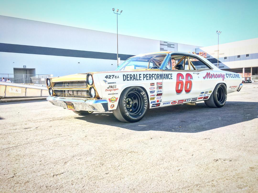 Nascar Inspired 1966 Mercury Cyclone Gt Engineswapdepot Com