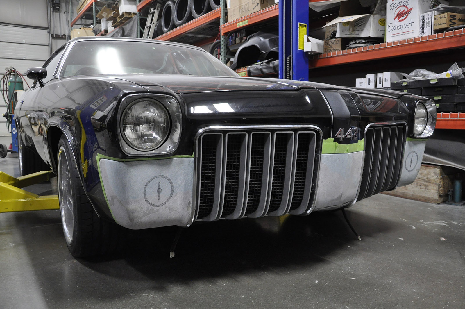 1973 Cutlass with a 700 HP LSA – Engine Swap Depot