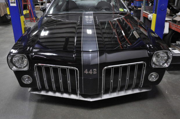 1973 Oldsmobile Cutlass with a 6.2 L LSA V8