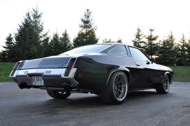 1973 Oldsmobile Cutlass with a LSA V8
