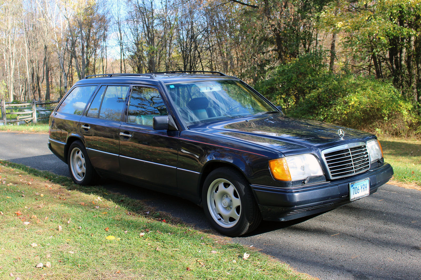 Mercedes e320 wagon with an amg inline six engine swap depot for Mercedes benz tune up cost