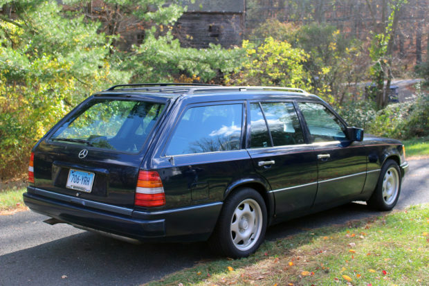 1995 Mercedes E320 wagon with a 3.6 L AMG inline-six