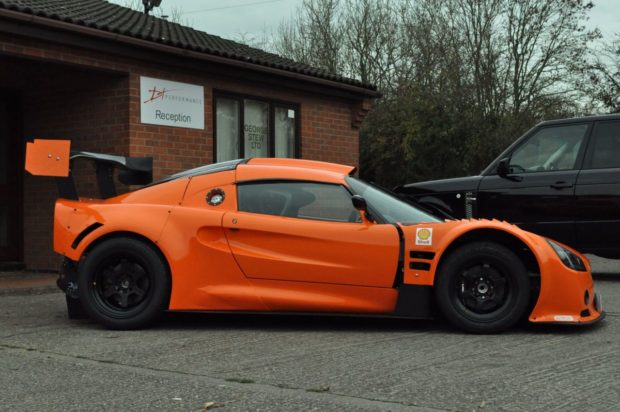 1999 Lotus Exige with a 3.5 L Ferrari F355 V8