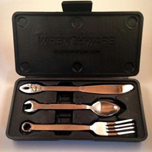 3-piece wrench cutlery set
