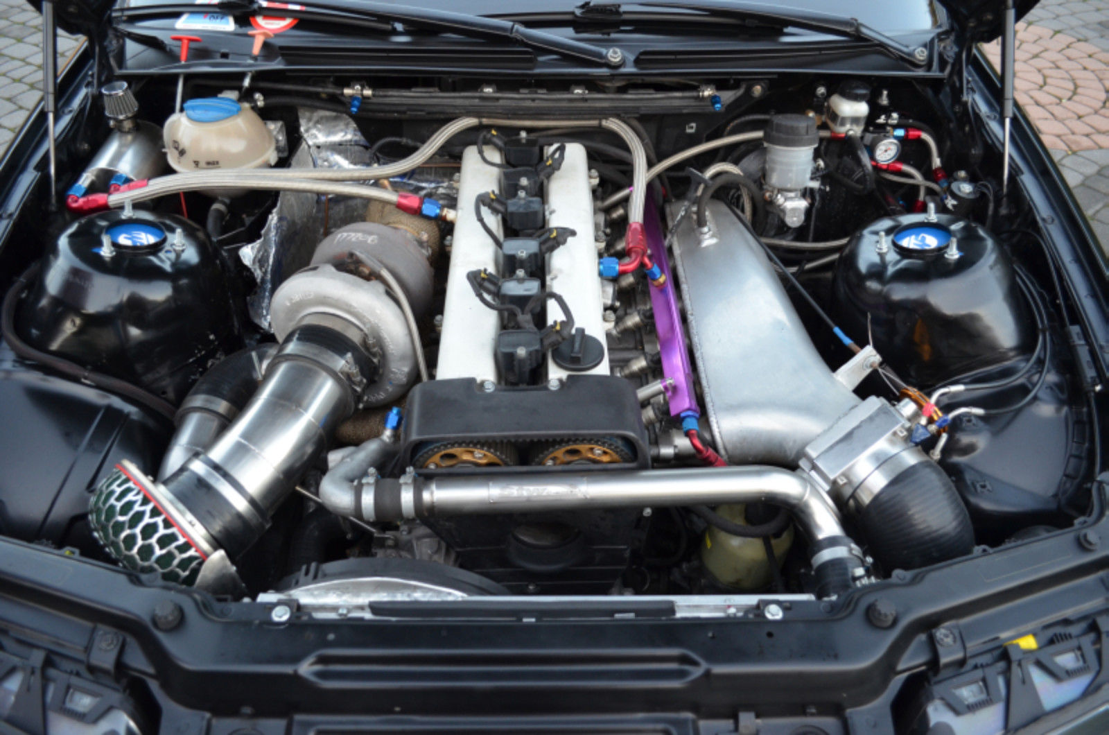 Bmw E46 Wagon With A 795 Hp 1 5jz Inline Six Engine Swap