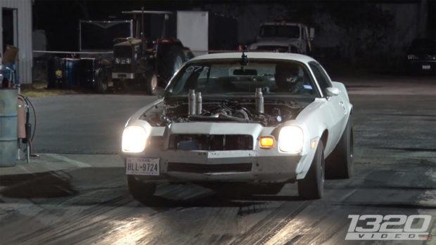 Camaro with Quad-turbo 6.0 L LSx V8