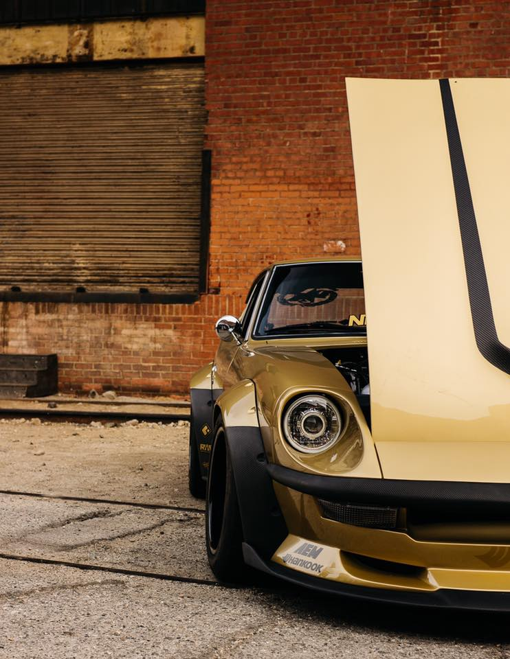 Chris Forsberg 1975 Datsun 280Z with a RB25DET