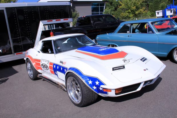 DSE 1972 Corvette with a LS3 V8