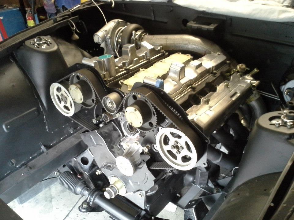 Datsun 240Z with a Turbo VG30DE – Engine Swap Depot