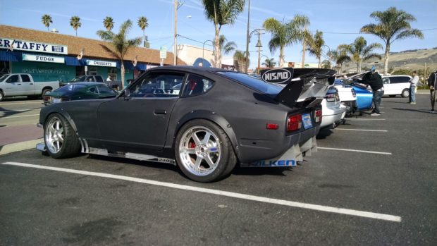 Datsun 240Z with a Turbo VG30DE V6