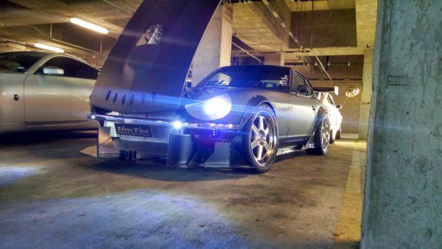 Datsun 240Z with a Turbo VG30DE V6