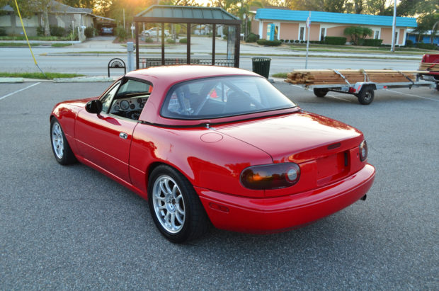 1996 Mazda Miata with a turbocharged 13B two-rotor