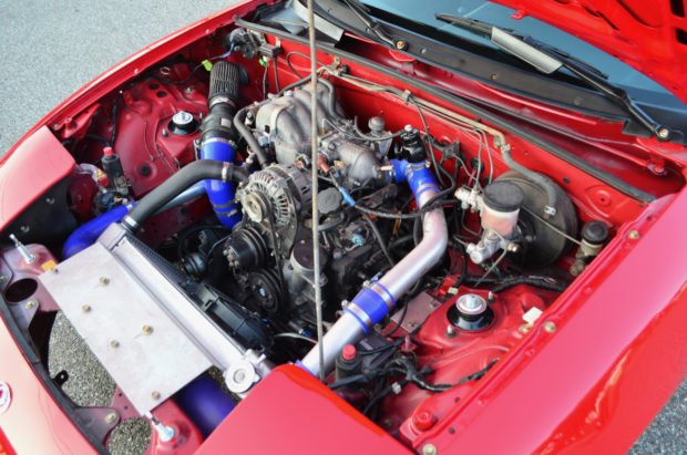 1996 Mazda Miata with a turbocharged 13B two-rotor
