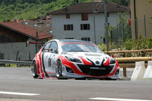 Mazda3 with a Twin-turbo Two-rotor