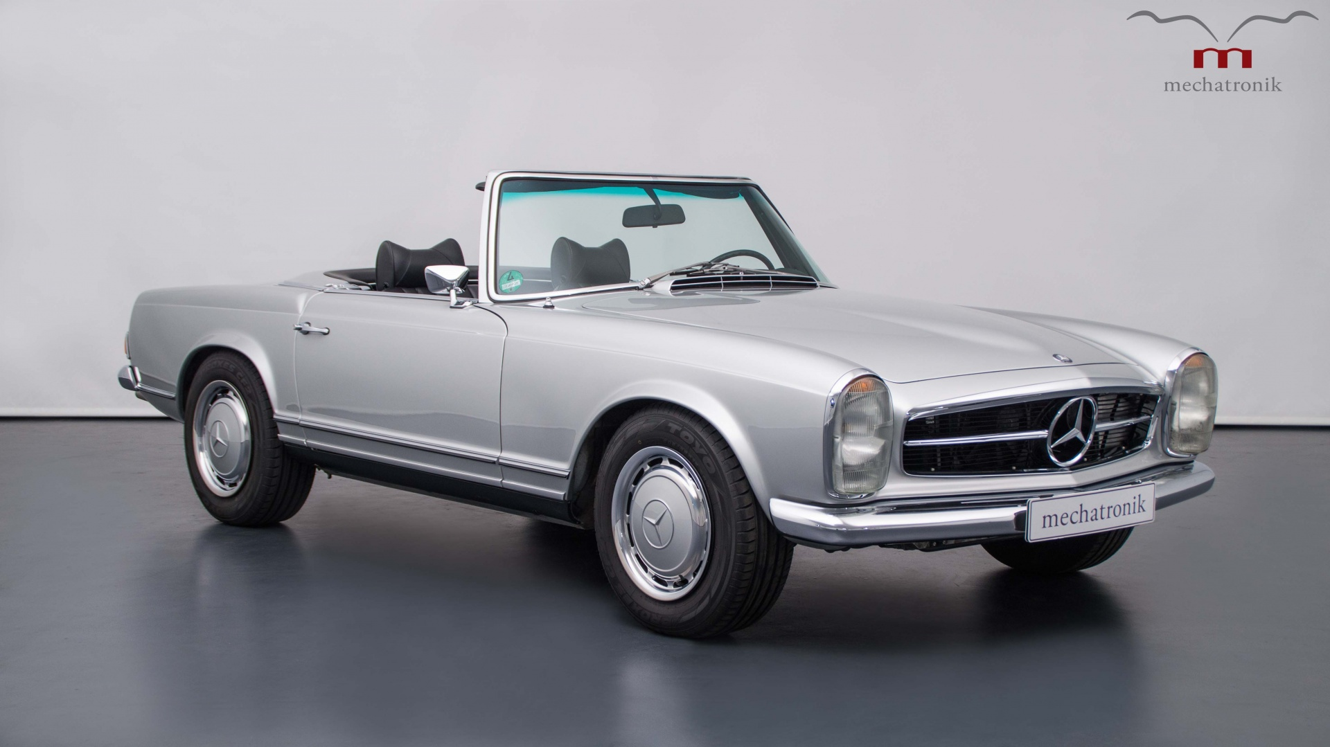 mechatronik is a company located in pleidelsheim germany that builds clic mercedes coupes or sedans with modern powertrains take for example this 1969