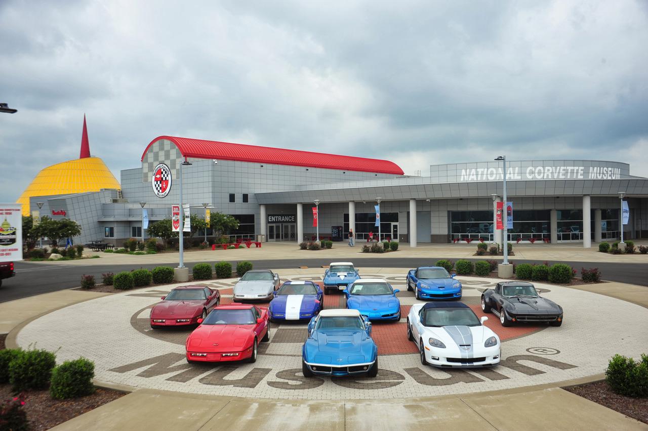 National Corvette Museum >> National Corvette Museum Engine Swap Depot