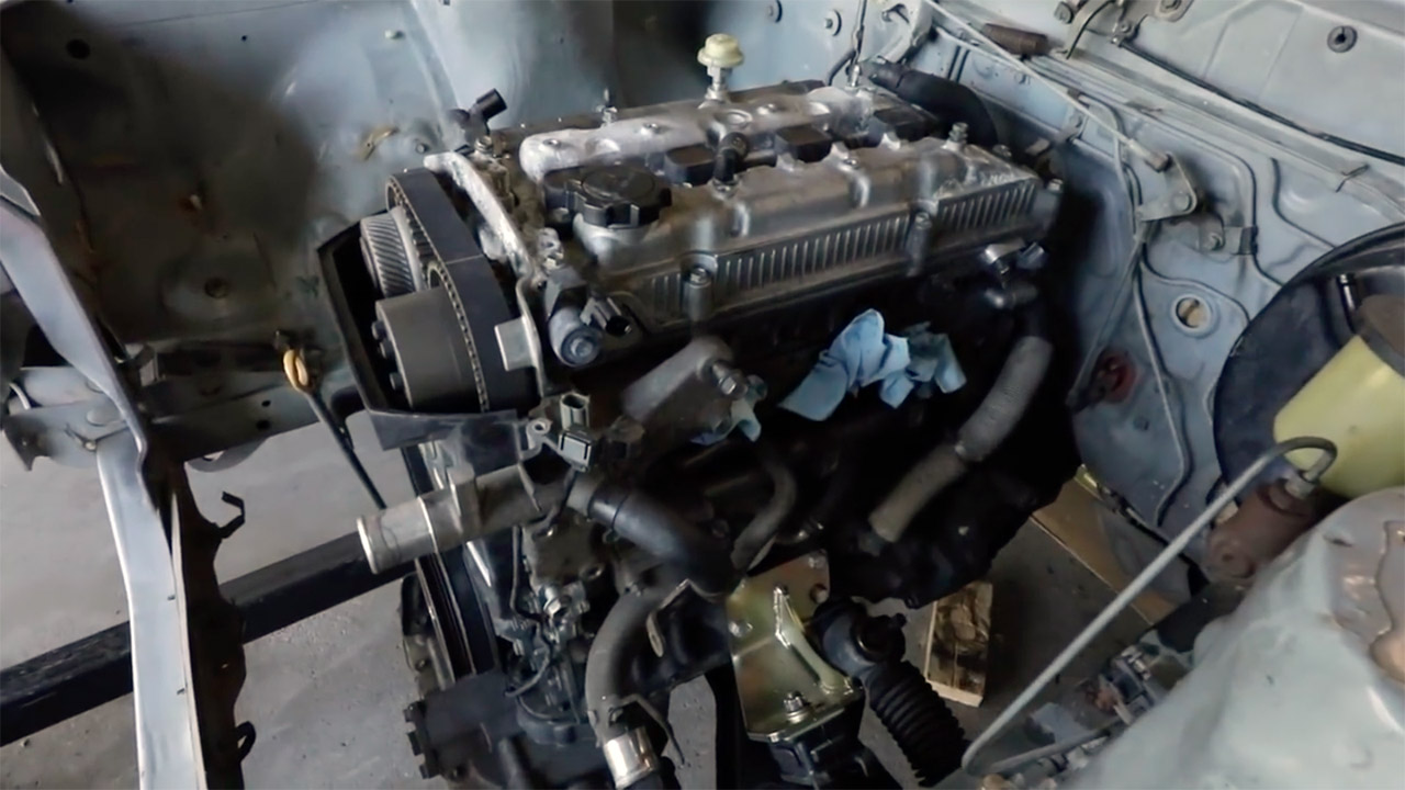 Building a 1977 Celica with a 3S-GE Black Top – Part 3 of