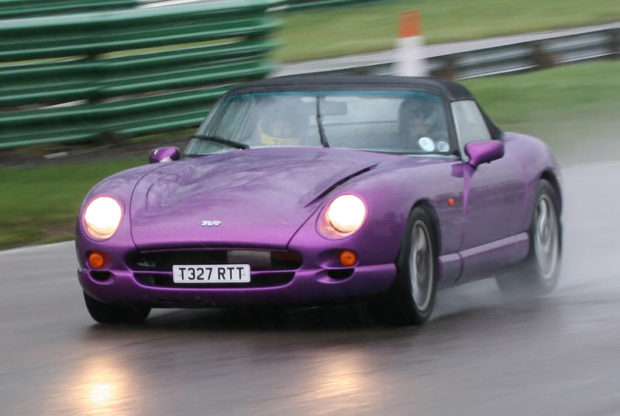TVR Chimaera 500 with a LS6 V8