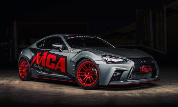 Toyota 86 with a Nissan VQ37 V6
