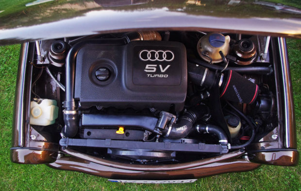 Trabant with an Audi TT 1.8 L AWD Powertrain