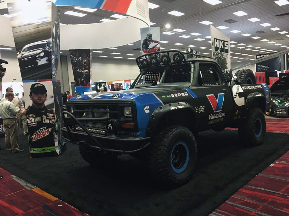 Two Cummins Powered Dodge Trucks Built for Baja – Engine