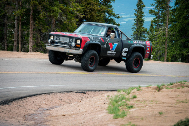 Valvoline Baja 1000 Dodge Truck with a 5.9 L Cummins ISB